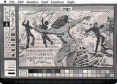Dance Processing: MacPaint, January 1984 | by DNSF David Newman