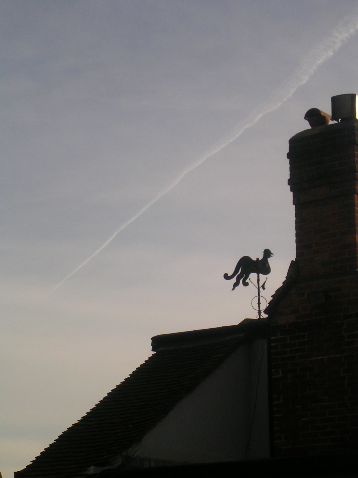 A weathervane Telscombe. Lewes to Saltdean via Rodmell