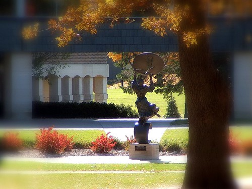 autumn colors religious landscapes bright iowa brightcolors waverly wartburgcollege
