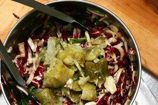 bitter greens, broken artichoke hearts   by smitten kitchen