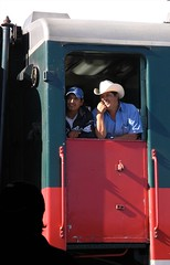 Train - Tren; Divisadero, Barranca de Cobre, SW of Creel, Chihuahua, Mexico