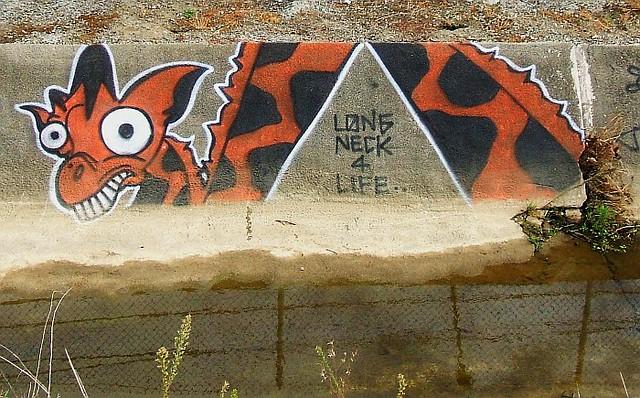 20071018 graffiti-girafa-long-neck-4-life