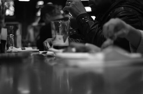 life blackandwhite bw beer monochrome bar 50mm wings nikon shot d70 wine hip guiness hipshot keno unflux gettman