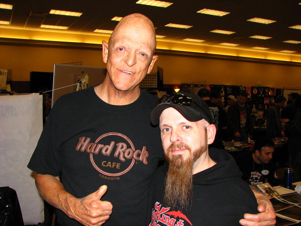 Doug & Michael Berryman   HorrorHound HorrorFest 11/17/08 ...