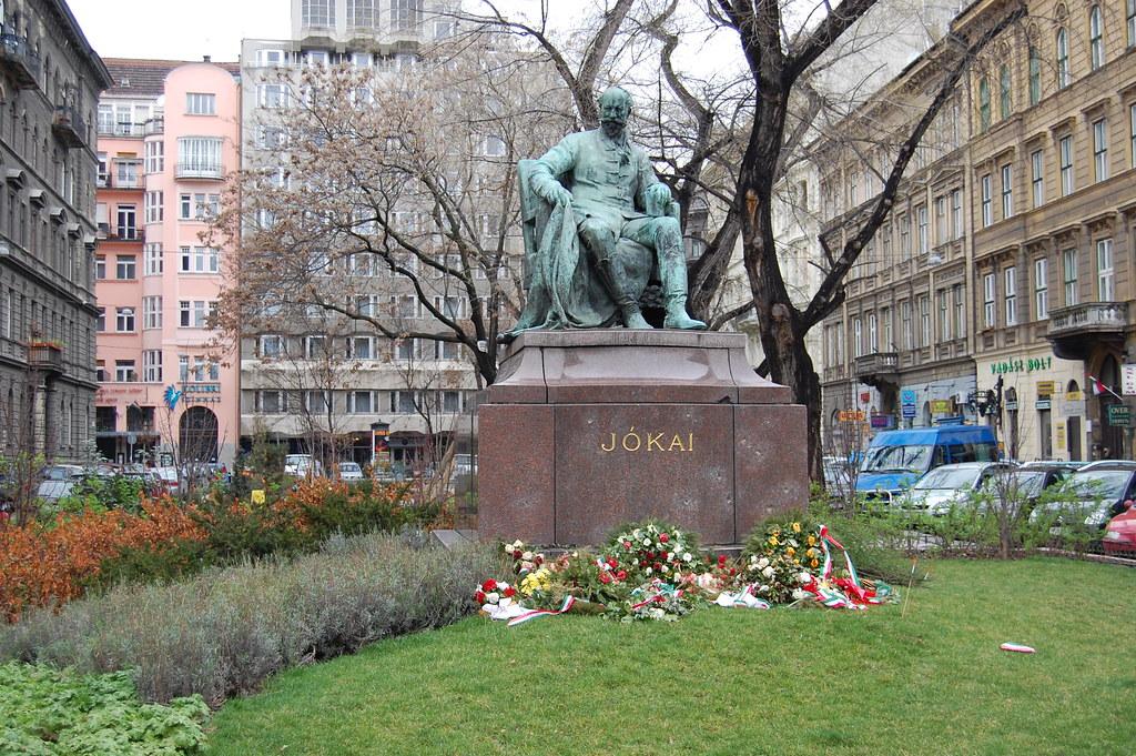 Jókai in Budapest