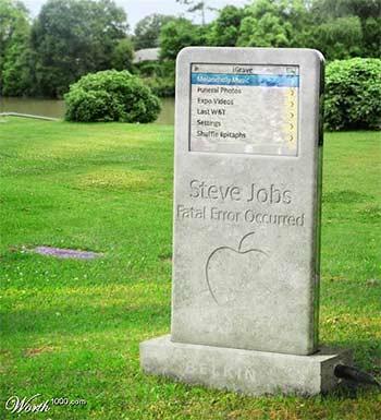 Steve Jobs's Grave
