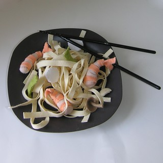 Felt Shrimp Stirfry- Felt Food | by AmericanFeltandCraft.com