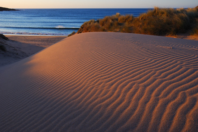 Scotland - Sun and Sand Ripples