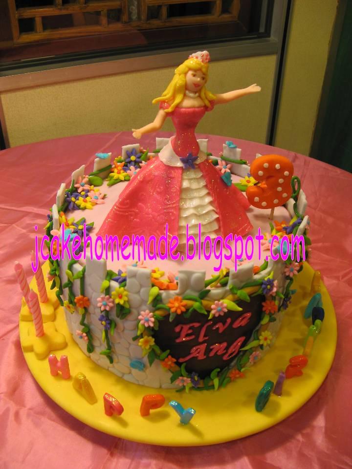 Astonishing Barbie Princess Birthday Cake Happy 3Rd Birthday Princess Flickr Funny Birthday Cards Online Barepcheapnameinfo