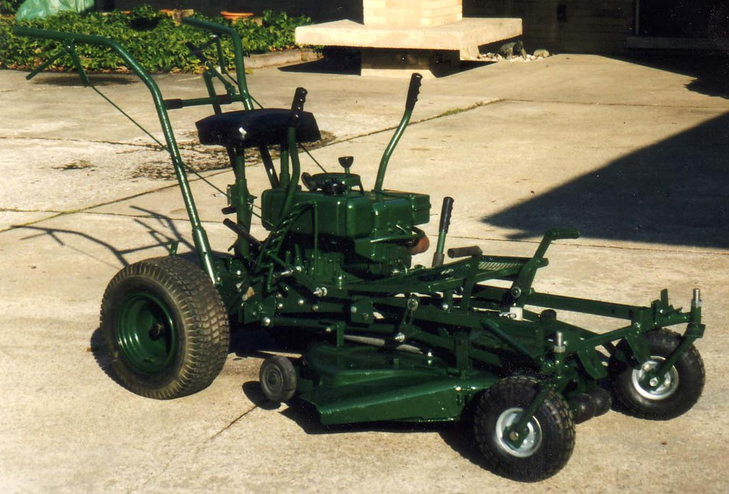 Homemade Lawnmower 1 | Made from scraps  I got the transmiss… | Flickr