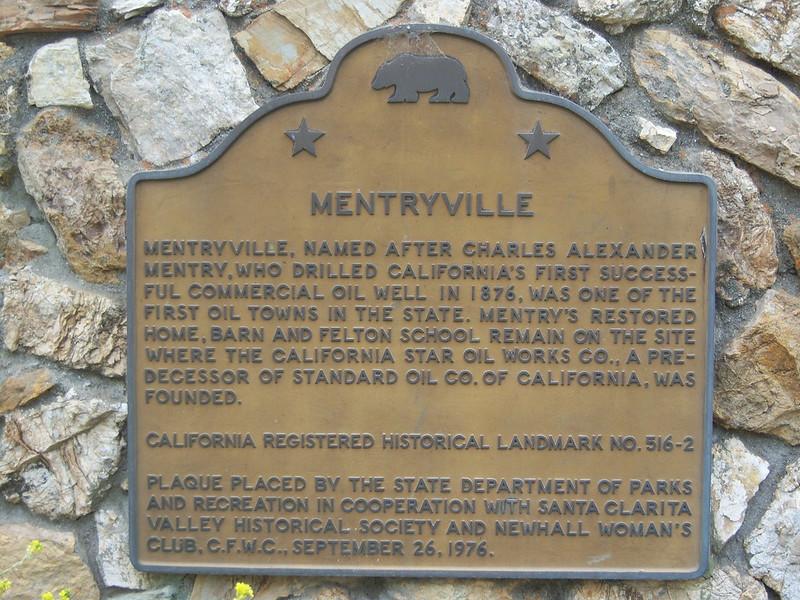 Mentryville - California Registered Historical Landmark  NO.516