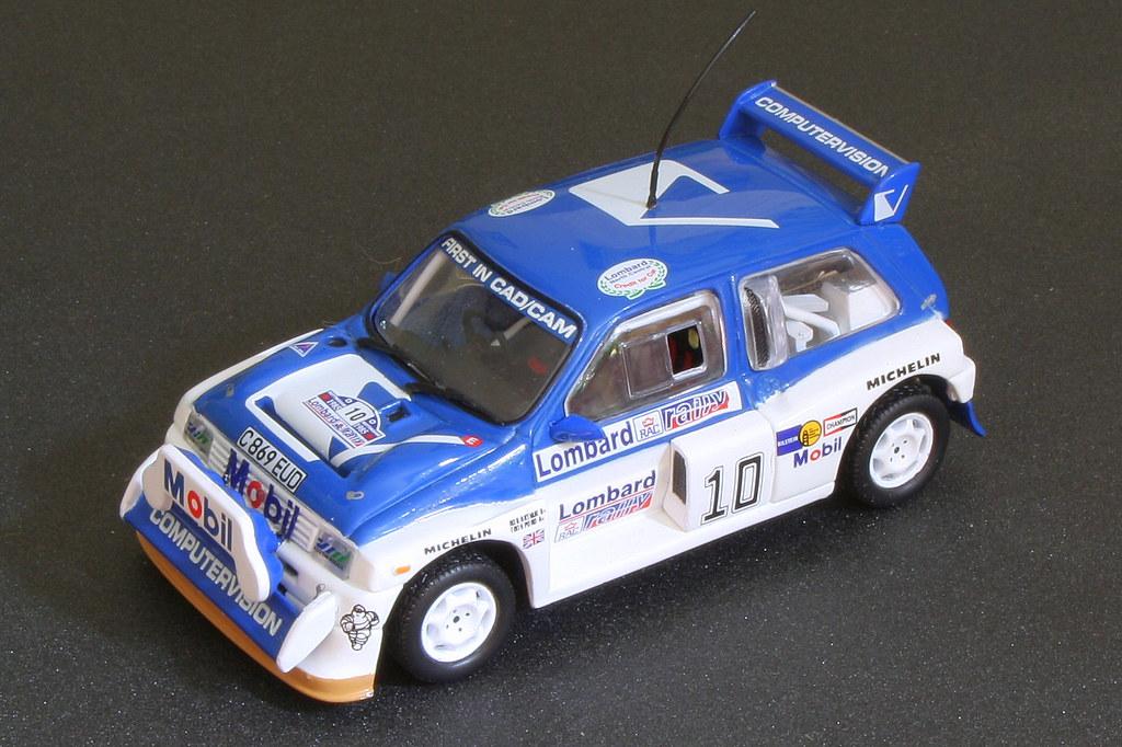 MG METRO 6R4  RAC RALLY 1985   1//43