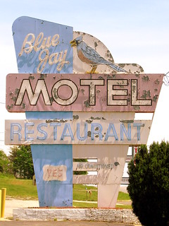 Blue Jay Motel neon sign | by SeeMidTN.com (aka Brent)
