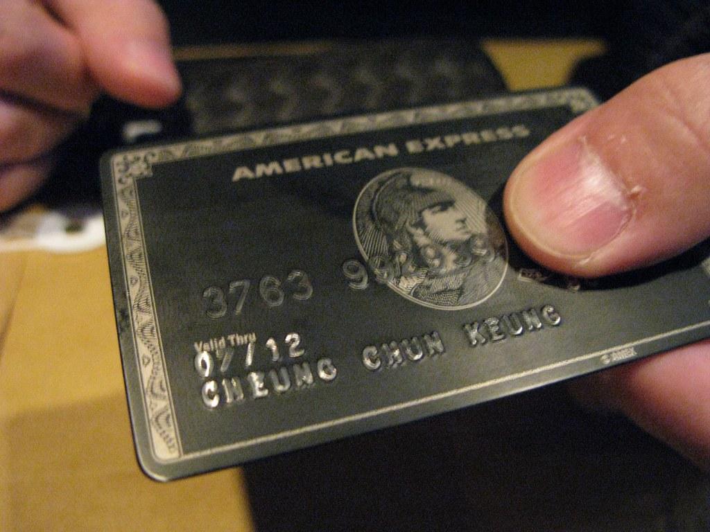 AMEX Black Card