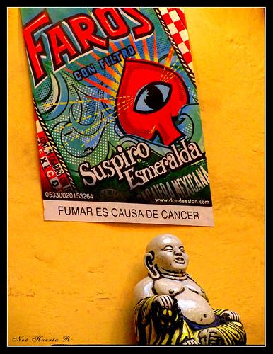 Buda iluminado por los Faros!