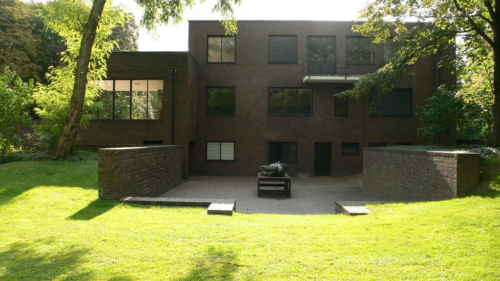 Haus Lange Haus Esters Mies Van Der Rohe Mies Van Der Flickr