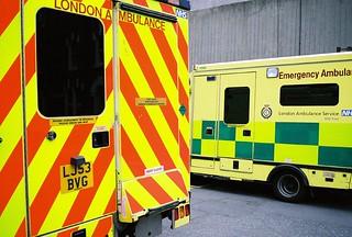 london ambulance | by brownphoto