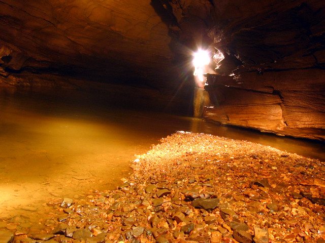Around the Bend, Capshaw Cave, Cookeville, TN