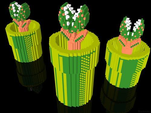 3 D Super Mario Bros Piranha Plant A 3 D Modeled Repres
