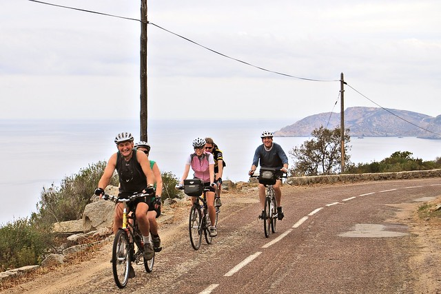 Cycle tour of Corsica: En route to Porto