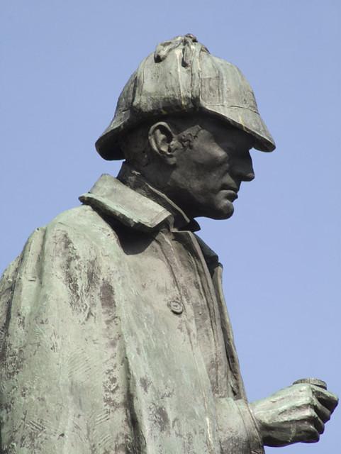Sherlock Holmes Statue - Edinburgh 2006