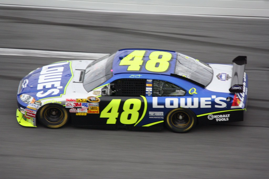 Jimmie Johnson Chevy >> Jimmie Johnson Lowe S Chevy Impala Shot By The Daredevil
