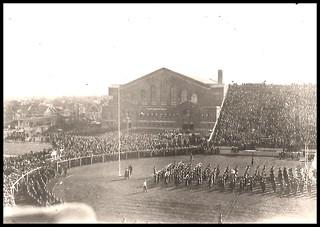 Michigan Wolverines vs Quantico Marines, Ferry Field, November 10, 1923.