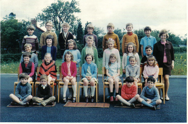 Mrs Worths Class 1972