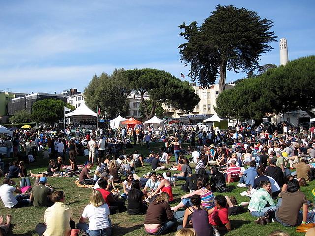 North Beach Festival / San Francisco / Washington Square
