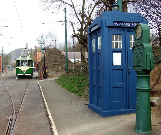 Tardis and tram
