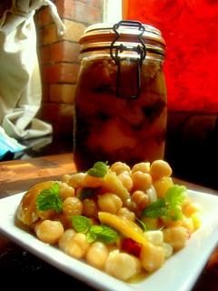 Chickpea & Preserved Lemon Salad