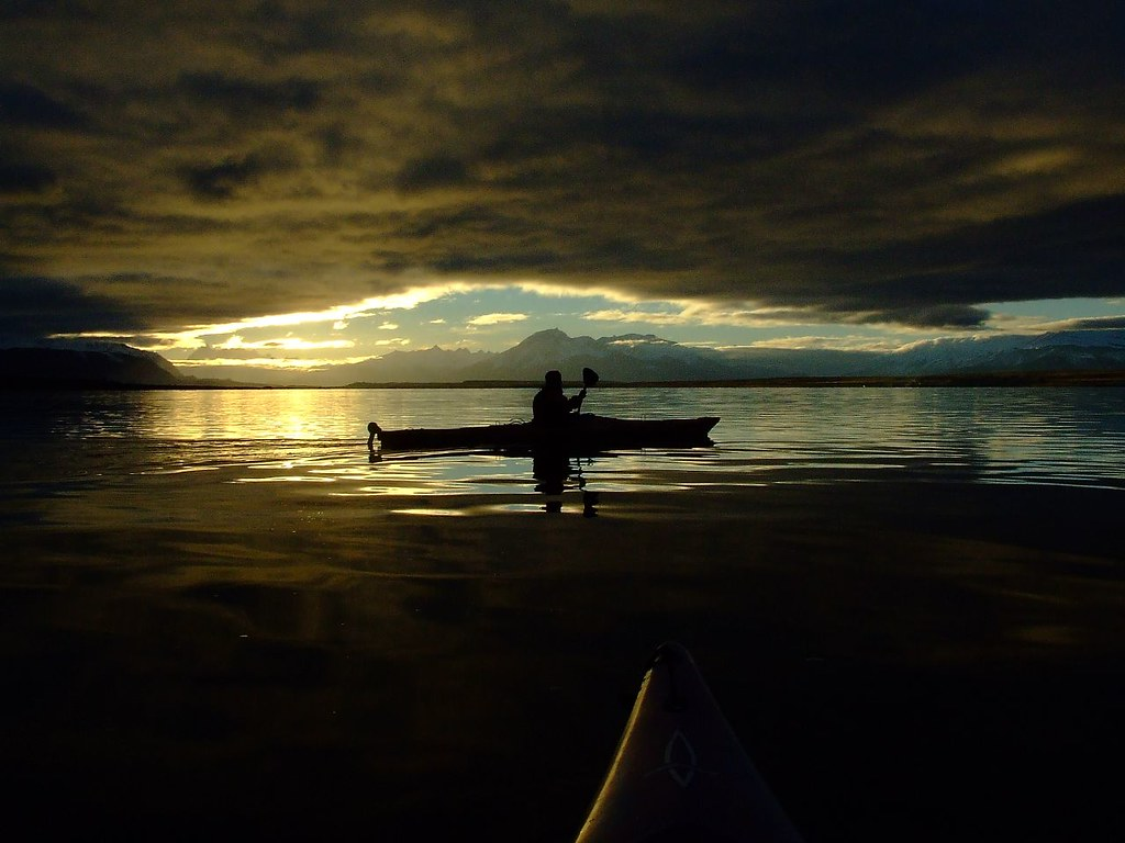 In kayak with.....  a former love