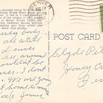 Postcard from Clifford and Jennie.