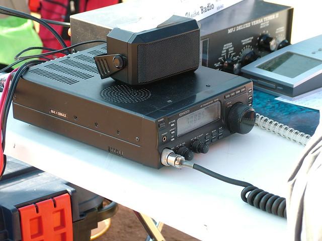 Equip KENWOOD TS-50 de l'estació EA3GLB