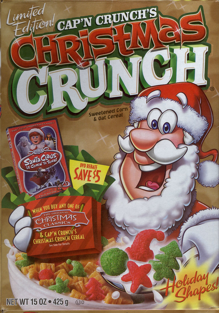 Christmas Crunch Cereal.Christmas Crunch Christmas Crunch Cereal 2007 I Like The