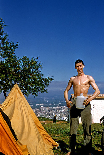 Vintage Kodachrome. April 1958. Granada (Spain). Wild Camp ...