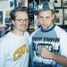 Marcus and Freddie Roach at Wildcard - Closeup