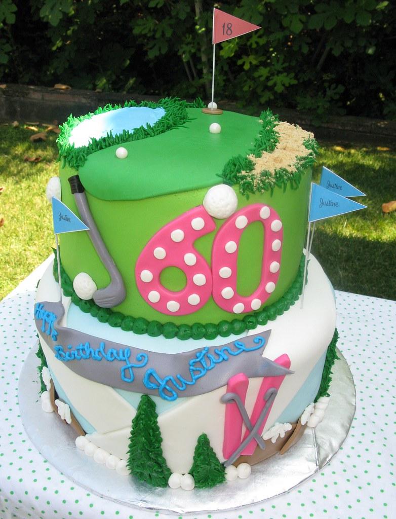 Pleasant Snow And Golf Birthday Cake Visit Thecakemamas Com To Flickr Funny Birthday Cards Online Alyptdamsfinfo