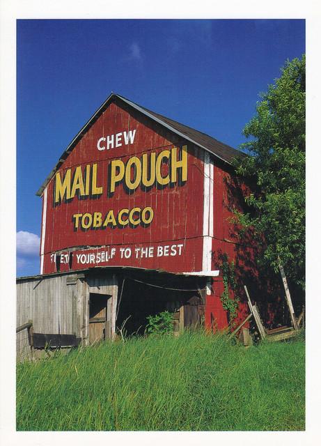 Mail Pouch Barn Postcard