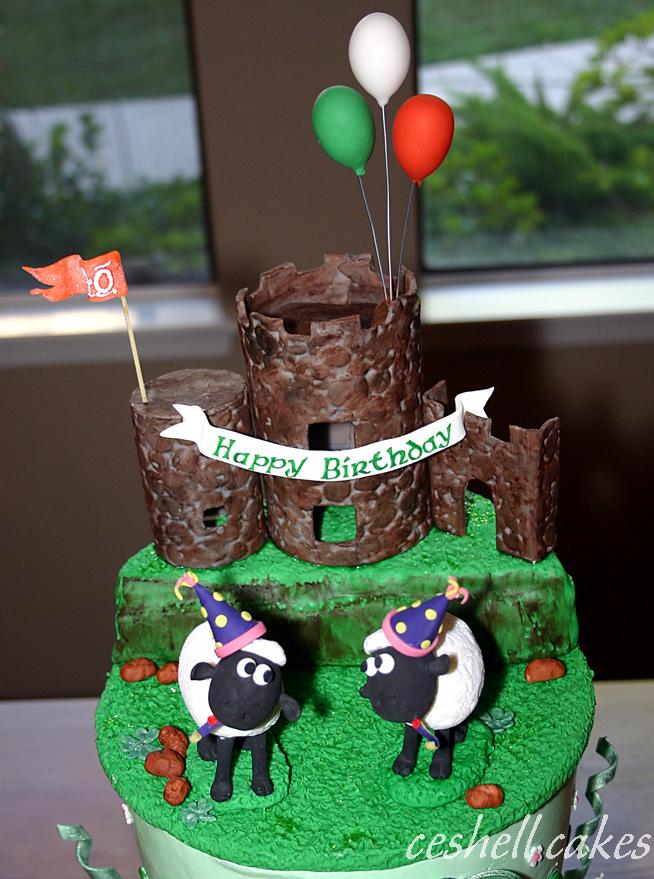 Cool Irish Birthday Topper A Photo On Flickriver Personalised Birthday Cards Veneteletsinfo