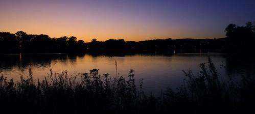 sunset silverlake rochesterminnesota