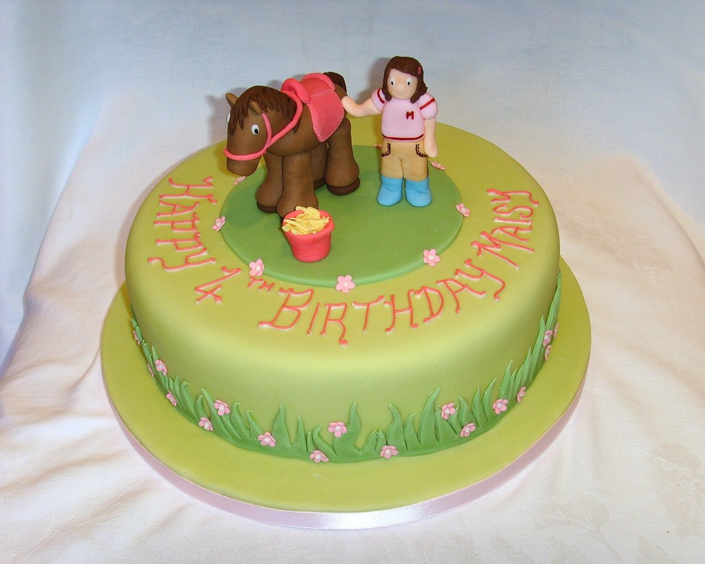 Cool Horse Themed Birthday Cake Thecustomcakeshop Co Uk Flickr Funny Birthday Cards Online Alyptdamsfinfo
