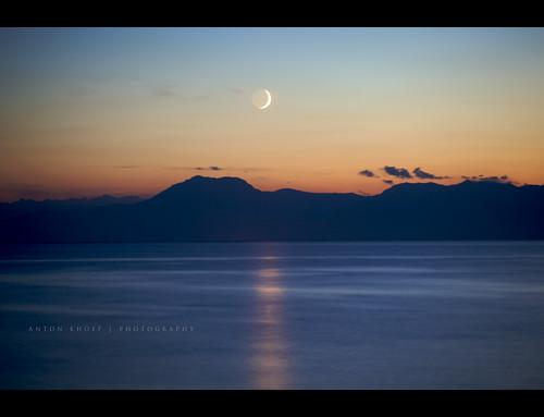 longexposure light sunset sea vacation sky moon holiday mountains water silhouette canon turkey evening shadows wave antalya moonlight belek antonkhoff