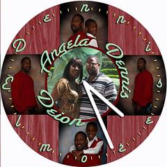 Dennis Love Clock | by customclockface