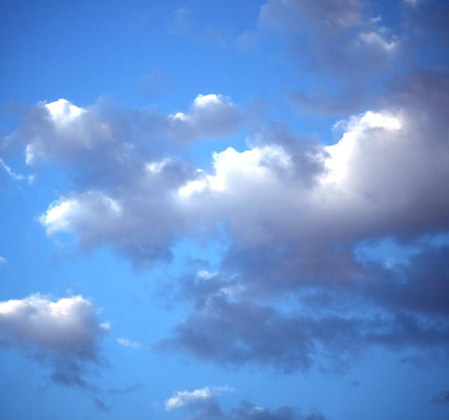Nuvole all'Alba