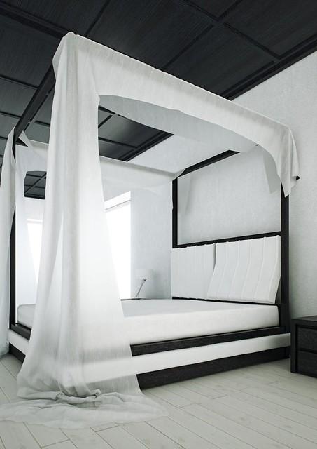Letto Con Baldacchino A Muro.Mazzali Wind Canopy Bed Il Letto A Baldacchino Wind Flickr