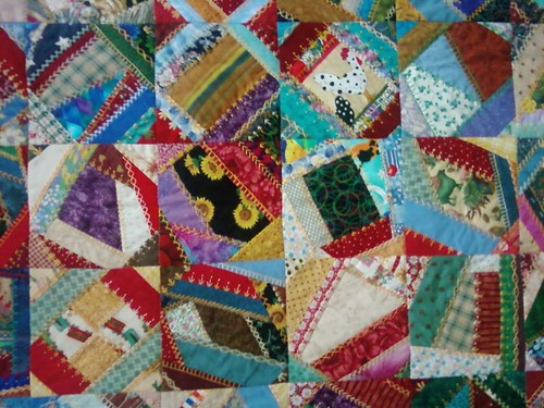 crazy quilt detail | by Mellicious