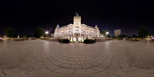 Quebec Parliament - Equirectangular | by haban hero