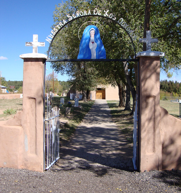 Nuestra Señora de los Dolores Catholic Church Gate (Manzano, New Mexico)
