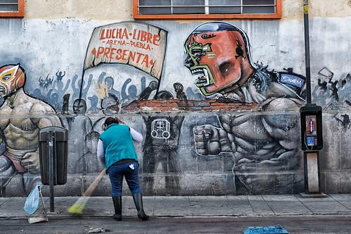 Lucha Libre Arena, Puebla: